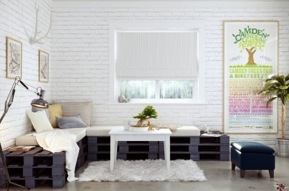 DIY Creative Furniture From Used Wood Pallets