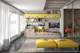 Modern Living Room Wall Units With Storage Inspiration Colorful