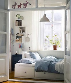 Small bedroom design ideas includes a lot of light