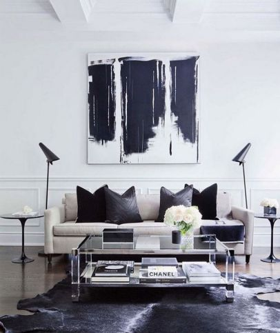 Wonderful Black And White Decoration Ideas