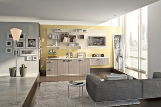 Modern Living Room Wall Units With Storage Inspiration Simple Elegant