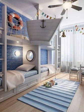 Creative Children's Rooms Design Ideas And Unique (44)