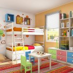 Dream Children's Room Set Pastel Color