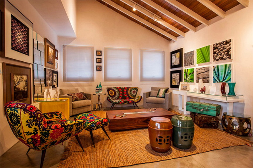 Ethnic Interior Decoration Ideas Home Design