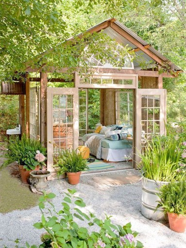 Beautiful Framework For A Garden Retreat