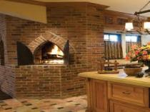 Bricks Arise for Warm And Enjoyable Kitchen