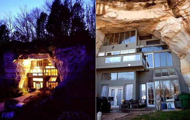 Cave House in Festus for Underground Home Designs