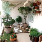 Corner Room For Beautiful And Charming Indoor Garden Designs