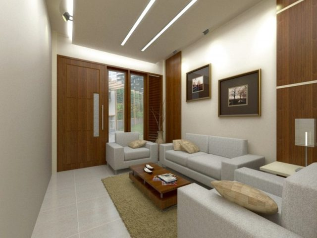 Furniture Arrangement For Elongate Living Room Design