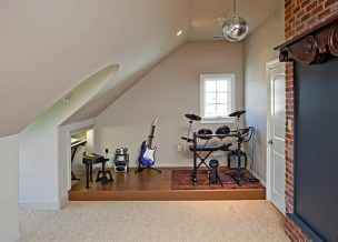 Guitar Music Room Ideas Home Wall Basement Fun For Small Spaces