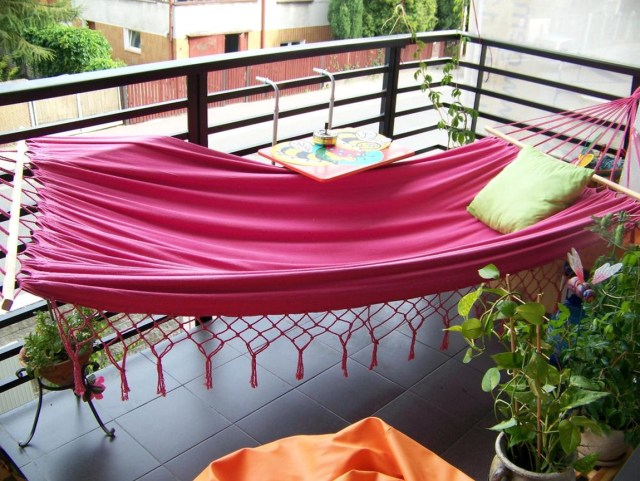 Hammock For Balcony Design Ideas Connected With Bedroom