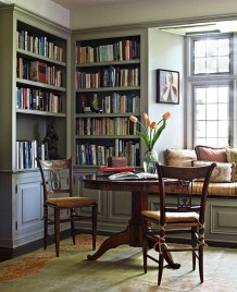 Home Library Design Ideas (20)