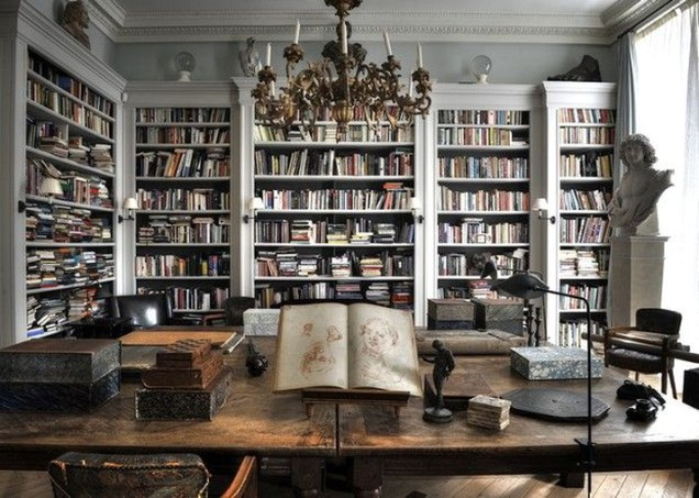 Home Library Design Ideas (26)