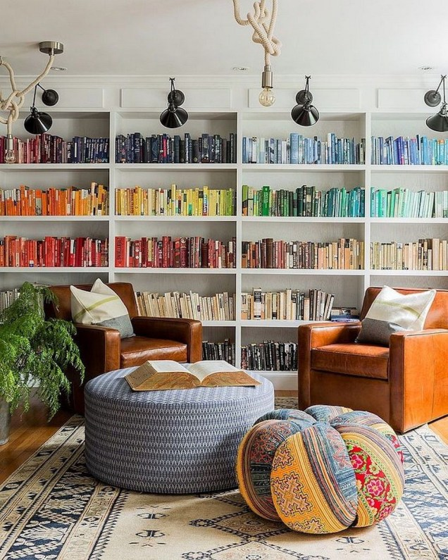 Home Library Design Ideas (35)