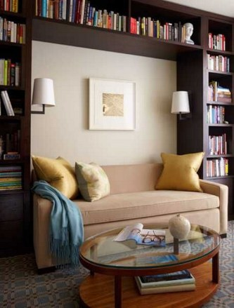 Home Library Design Ideas (40)