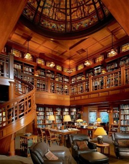 Home Library Design Ideas (58)