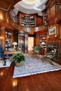 Home Library Design Ideas (9)