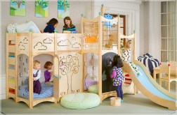 Indoor Wood Fun With Gorgeous CedarWorks Playsets