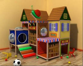 Kids Indoor Playground For Home Use