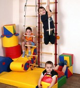 Kids Spider Wall Indoor Playground Set