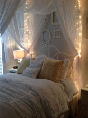 Luxury Diy Bed Canopy With Lights