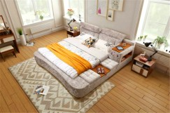 Modern Korean Style Bedroom Decoration Renderings By Heypik