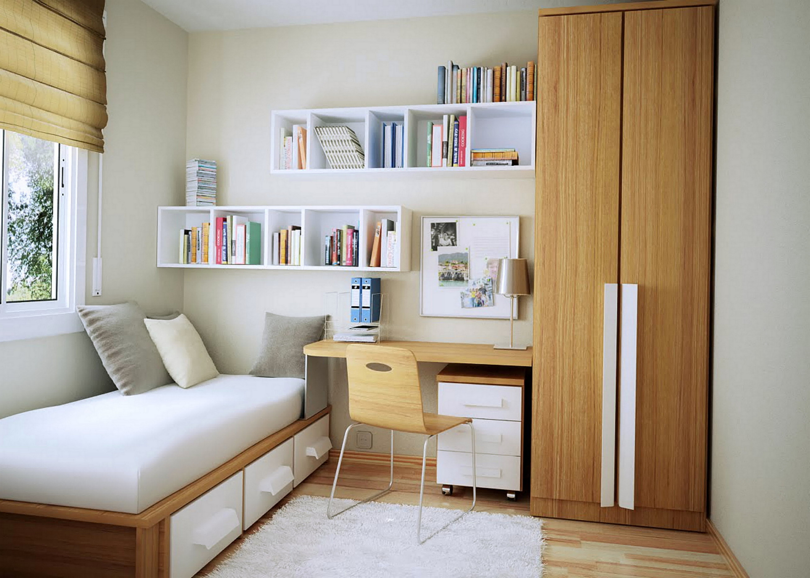 Simple Bedroom Ideas Small Spaces Top Ideas Architecturein