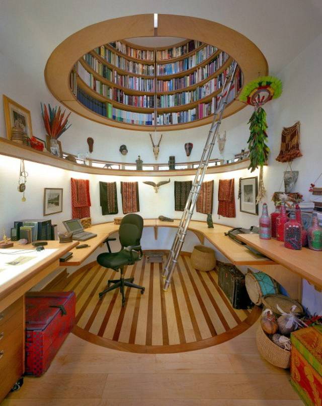 The Ceiling Library For Unique Library At Home