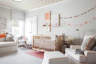 The Nursery Pink Design Is One Of The First Decisions That Parents Make
