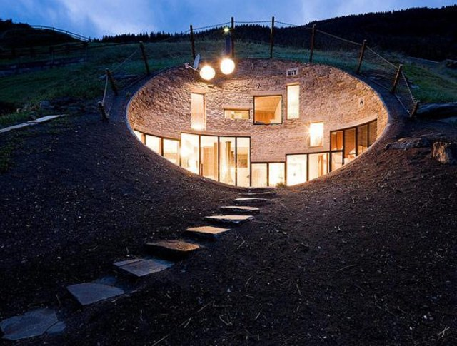 Underground House in Vals, Switzerland for Underground Home Designs