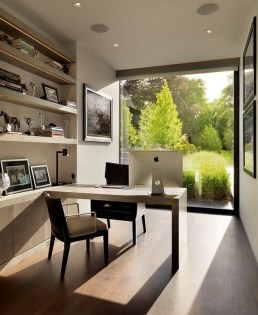Unique And Comfortable Home Office Design Ideas (105)