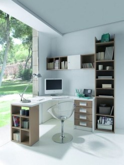 Unique And Comfortable Home Office Design Ideas (118)
