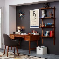 Unique And Comfortable Home Office Design Ideas (135)