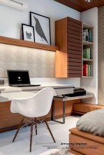 Unique And Comfortable Home Office Design Ideas (145)
