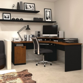 Unique And Comfortable Home Office Design Ideas (156)