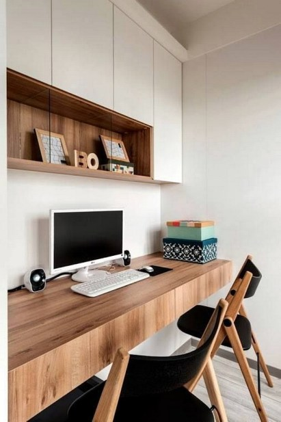 Unique And Comfortable Home Office Design Ideas (188)
