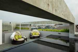 Water For Sound Dampening for Make a Beautiful and Attractive Rooftop Garden