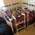 Balls Bath for Creative Ideas for Playground at Home
