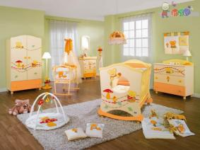 Cute Characters for Creative Ideas for a Beautiful and Unique Baby Room Design