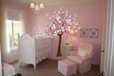Floral Pattern for Creative Ideas for a Beautiful and Unique Baby Room Design