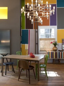 Contrast Color Concept for Modern Urban Style Home Decor