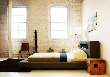 Large Windows for Korean Style Bedroom