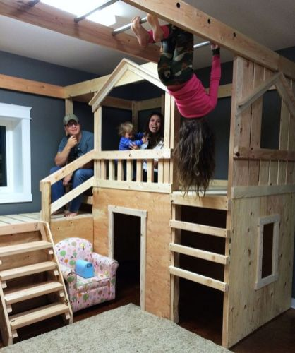 Multi Level Playground for Creative Ideas for Playground at Home