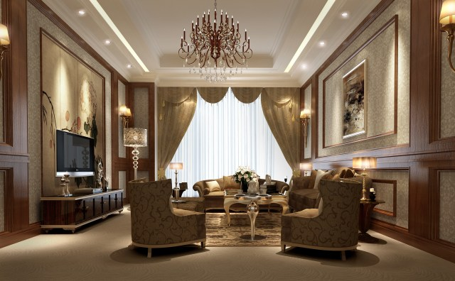 Color Selection for Luxury Family Room