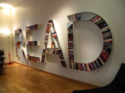 Bookshelf that Can Speak for Unique Library at Home