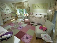 Spark Color for Creative Ideas for a Beautiful and Unique Baby Room Design