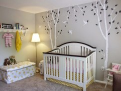 Wallpaper And Wall Stickers for Creative Ideas for a Beautiful and Unique Baby Room Design