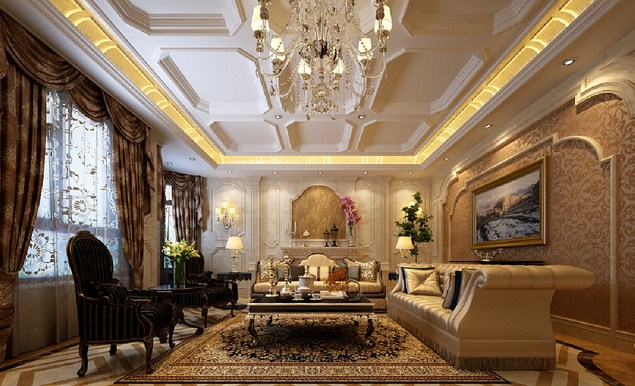 Wallpaper for Luxury Family Room