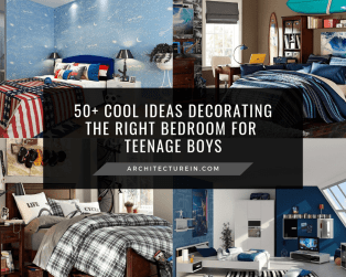 50+ Cool Ideas Decorating The Right Bedroom For Teenage Boys Featured