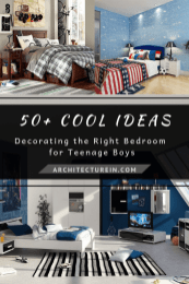 50+ Cool Ideas Decorating The Right Bedroom For Teenage Boys